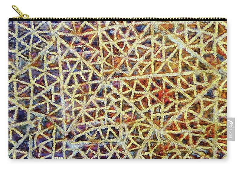 Behindtheart Carry-all Pouch featuring the photograph This Is One Of The #patterns That I by Loly Lucious