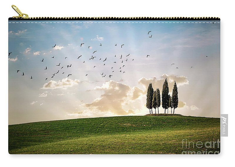Kremsdorf Carry-all Pouch featuring the photograph This Majestic Land by Evelina Kremsdorf