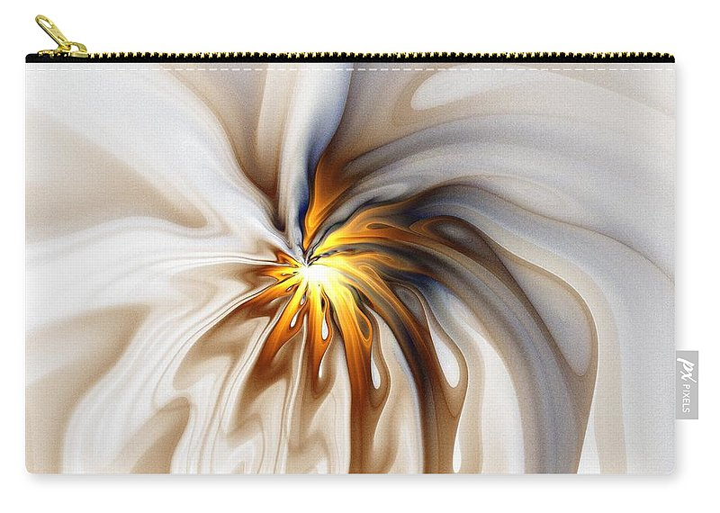 Digital Art Carry-all Pouch featuring the digital art This Too Will Pass... by Amanda Moore