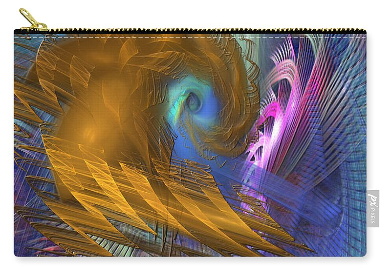 Thor Legacy Carry-all Pouch featuring the digital art Thor Legacy by John Beck