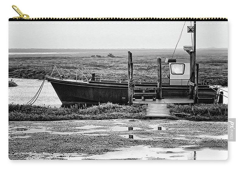 Amazing Carry-all Pouch featuring the photograph Thornham Harbour, North Norfolk by John Edwards