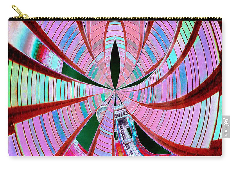 Seattle Carry-all Pouch featuring the photograph Threading The Needle by Tim Allen