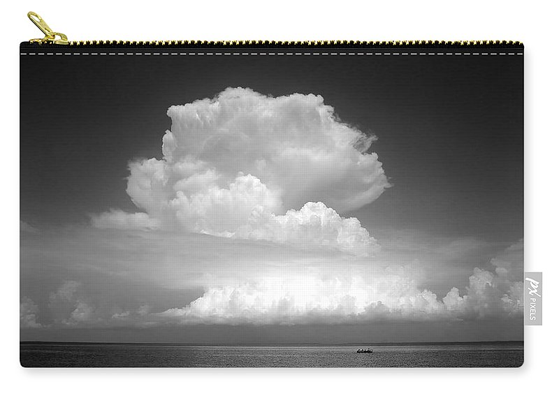 Storm Carry-all Pouch featuring the photograph Threatening by David Lee Thompson