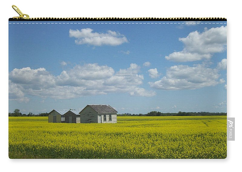Nature Carry-all Pouch featuring the photograph Three Of A Kind by Mary Mikawoz