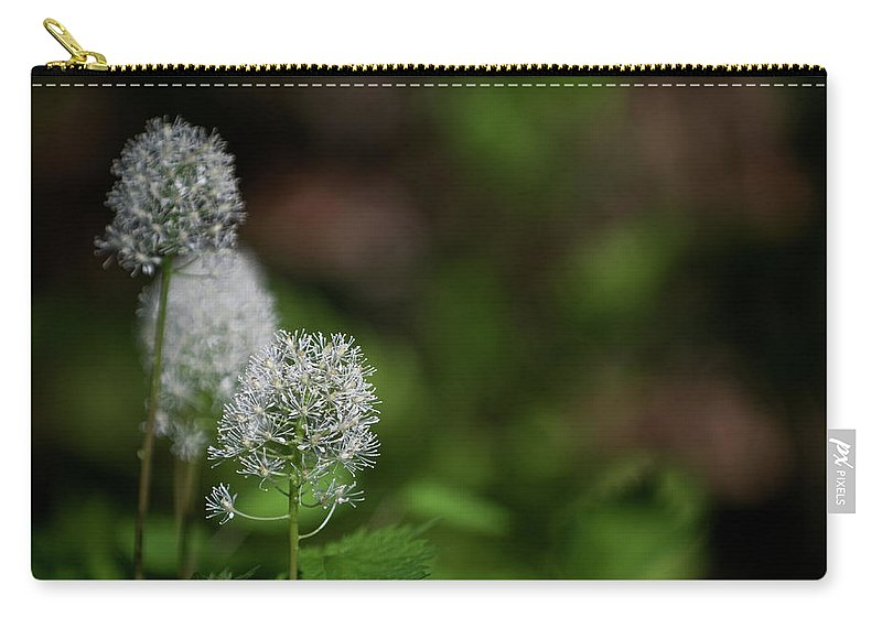 macro Photography Carry-all Pouch featuring the photograph Three Of A Kind by Paul Mangold