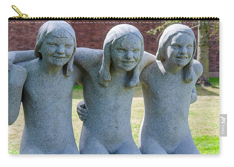 Granite Carry-all Pouch featuring the photograph Three Sisters by Kevin Gallagher