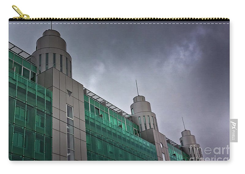 Baltic Countries Carry-all Pouch featuring the photograph Three Towers In Tallinn by Jukka Heinovirta