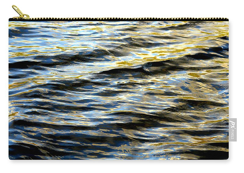Water Carry-all Pouch featuring the photograph Through Darkness Came Light by Donna Blackhall