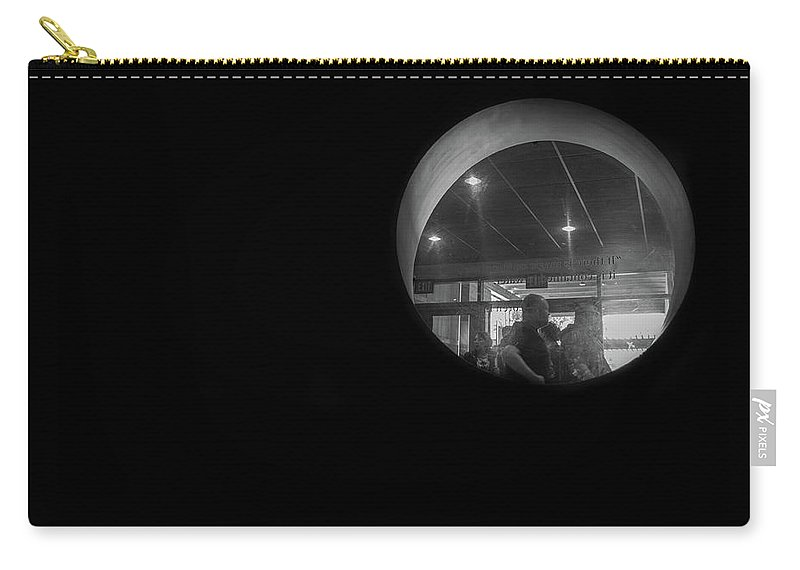 Carry-all Pouch featuring the photograph Through The Looking Hole by Jade Woods