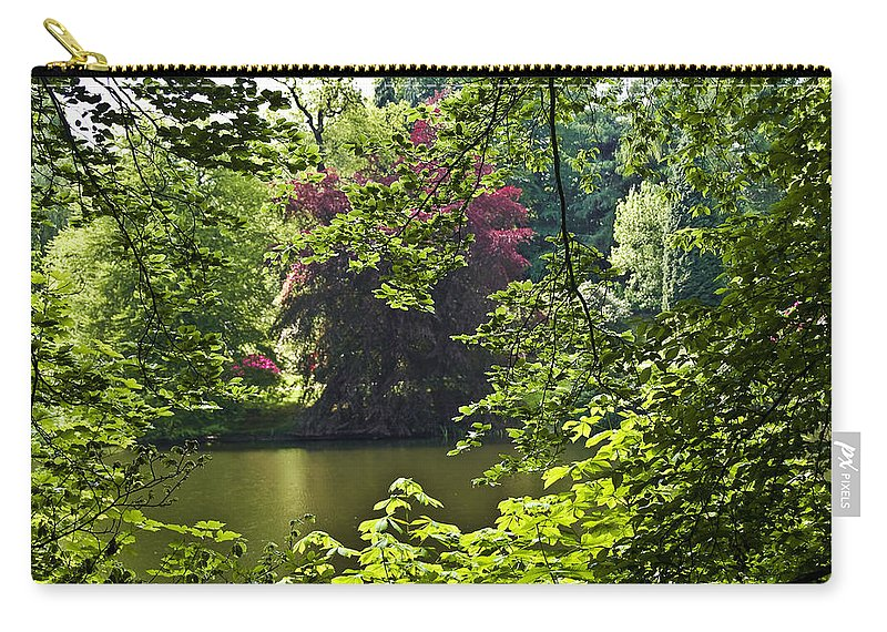 Countryside Carry-all Pouch featuring the photograph Through The Tree01 by Svetlana Sewell