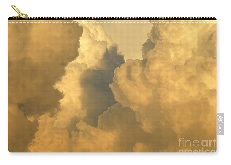 Clouds Carry-all Pouch featuring the photograph Thunder Heads by David Lee Thompson