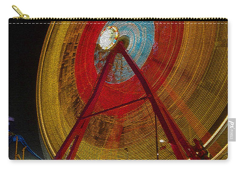 Amusement Ride Carry-all Pouch featuring the photograph Tickets by David Lee Thompson