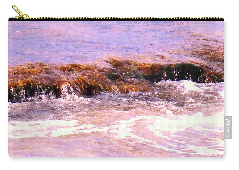 Tide Carry-all Pouch featuring the photograph Tidal Pool by Ian MacDonald