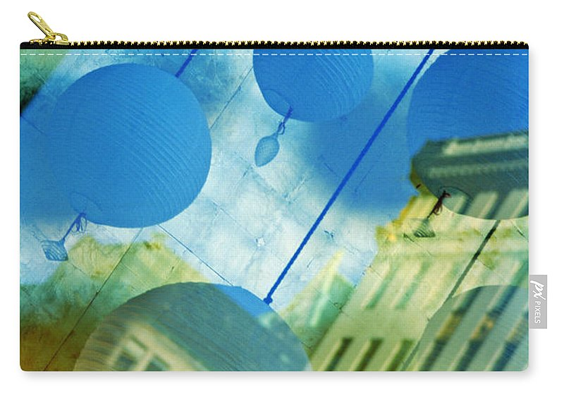 New York Carry-all Pouch featuring the photograph Tiffanys by Skip Hunt