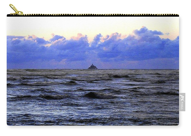 Lighthouse Carry-all Pouch featuring the photograph Tillamook Rock Lighthouse by Will Borden