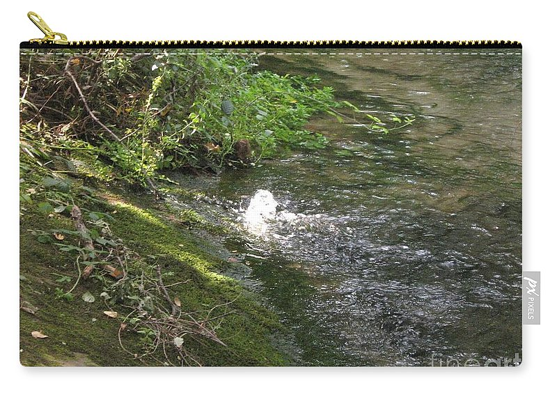River Carry-all Pouch featuring the photograph Timava's Spring I by Dragica Micki Fortuna