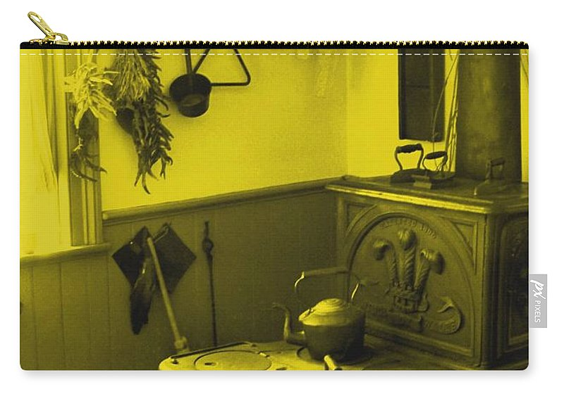 Iron Carry-all Pouch featuring the photograph Time For A New Kitchen by Ian MacDonald