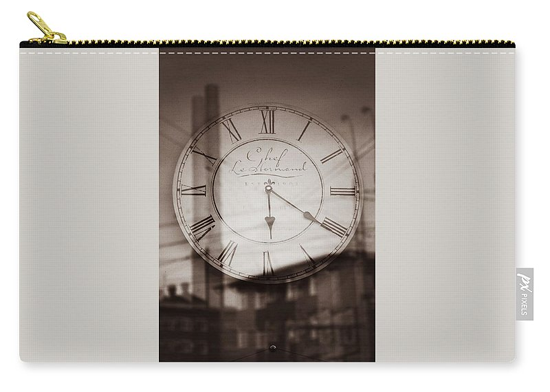 Time Carry-all Pouch featuring the photograph Time Is Infinite by Sophia Somova