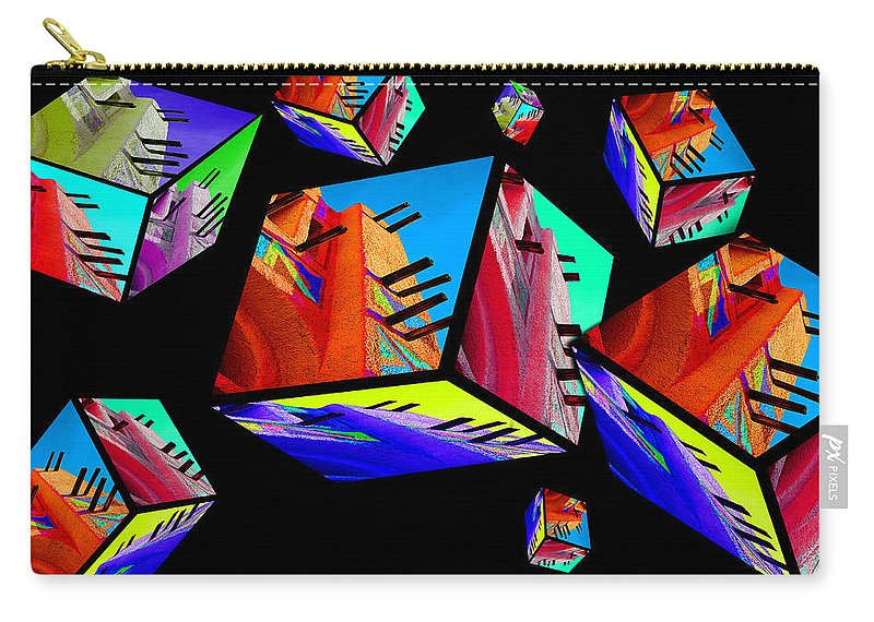 Colours Carry-all Pouch featuring the photograph Tinbuck3 by Robert Meanor