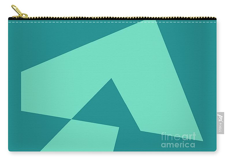 Abstract Carry-all Pouch featuring the digital art Tincture by Sakshi Modi