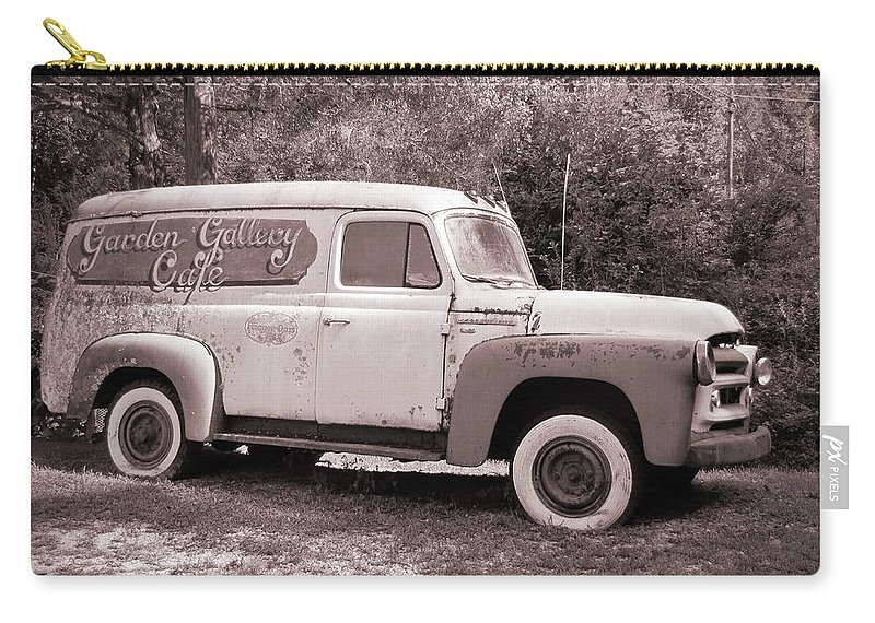 Clunker Carry-all Pouch featuring the photograph Tired Clunker by Frank Castillo