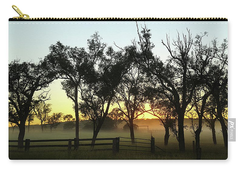 Dawn Carry-all Pouch featuring the photograph Tireen 2am-001417 by Andrew McInnes