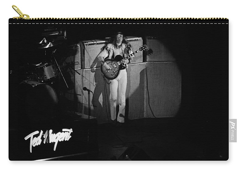 Classic Rock Carry-all Pouch featuring the photograph Tn#38 by Ben Upham