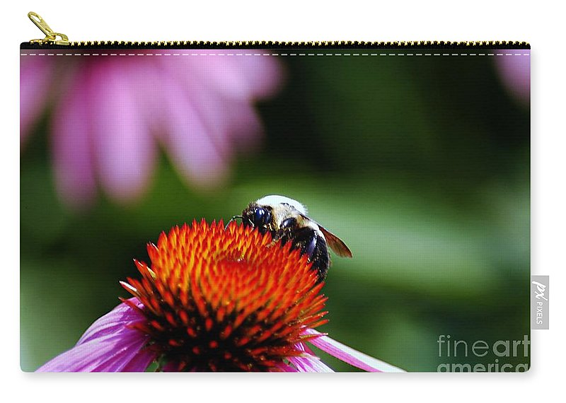 Clay Carry-all Pouch featuring the photograph To Bee Or Not To Bee by Clayton Bruster