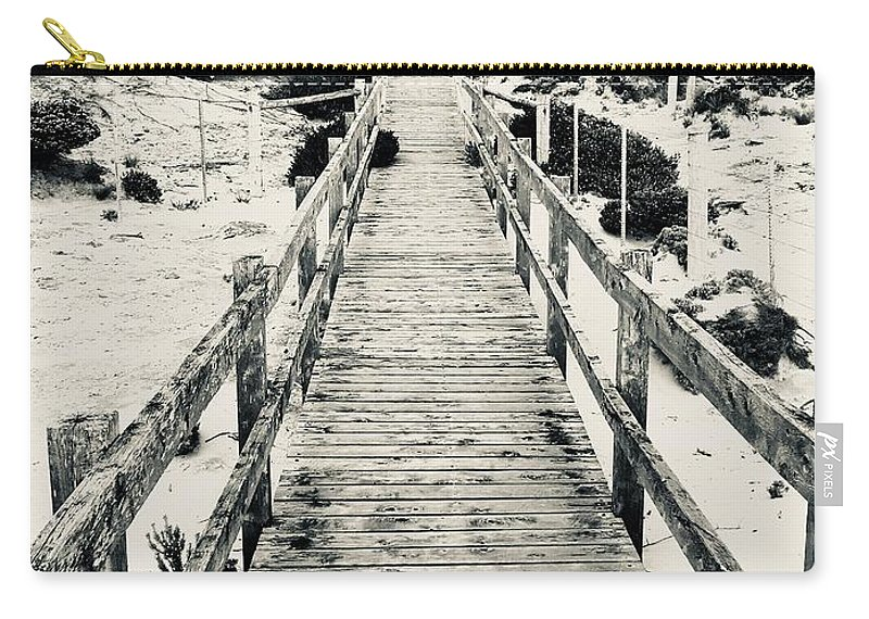 Seascape Carry-all Pouch featuring the photograph To Heaven  by Luap Thgirwtrac