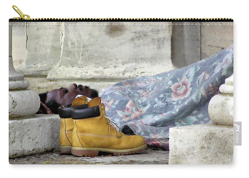 2d Carry-all Pouch featuring the photograph To Sleep Perchance To Dream by Brian Wallace