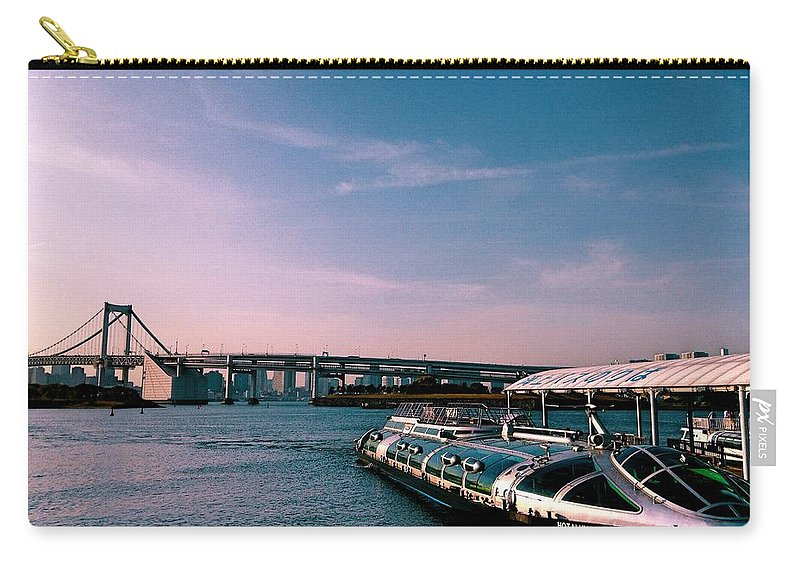 Landscape Carry-all Pouch featuring the photograph To The Space From Sea by Momoko Sano