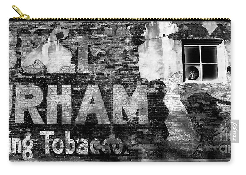 Tobacco Carry-all Pouch featuring the photograph Tobacco Days by David Lee Thompson