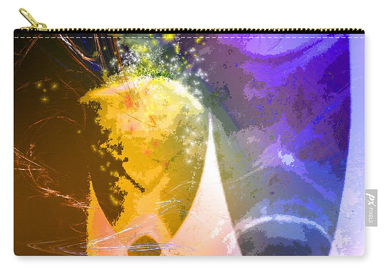 Fantasy Carry-all Pouch featuring the photograph Together Again by Miki De Goodaboom
