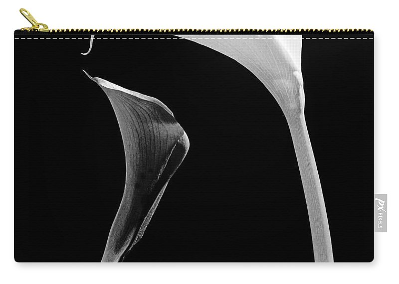 Flowers Carry-all Pouch featuring the photograph Together by Casper Cammeraat