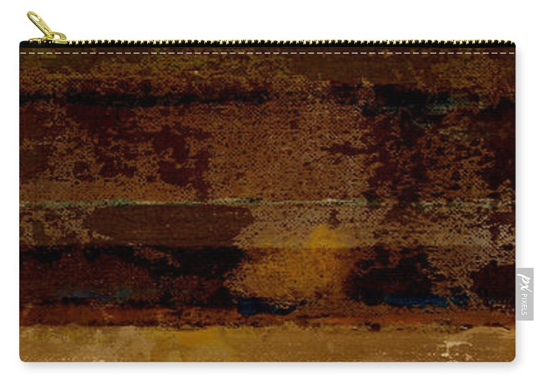 Abstract Carry-all Pouch featuring the painting Togetherness II by Ruth Palmer