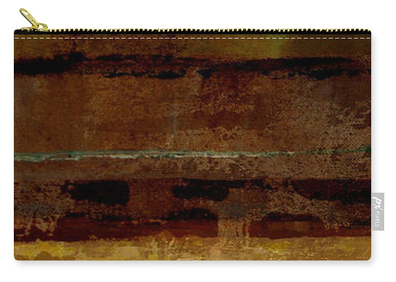 Abstract Carry-all Pouch featuring the painting Togetherness by Ruth Palmer