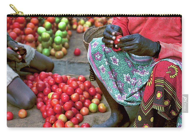 Fruit Carry-all Pouch featuring the photograph Tomatoes by Don Schimmel