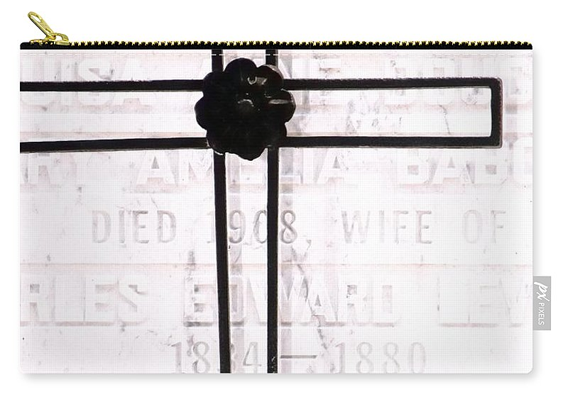 Celebrate Carry-all Pouch featuring the photograph Tomb Of The Wife by Jerry Sodorff