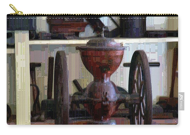 Americana Carry-all Pouch featuring the digital art Tools For The Times by RC DeWinter