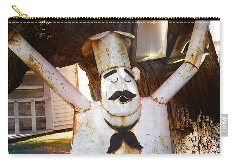 Chef Carry-all Pouch featuring the photograph Top Chef by Ella Kaye Dickey