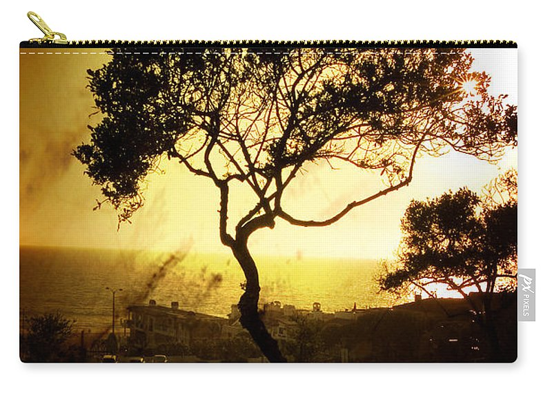 Tree Carry-all Pouch featuring the photograph Top Of The Hill by Scott Pellegrin