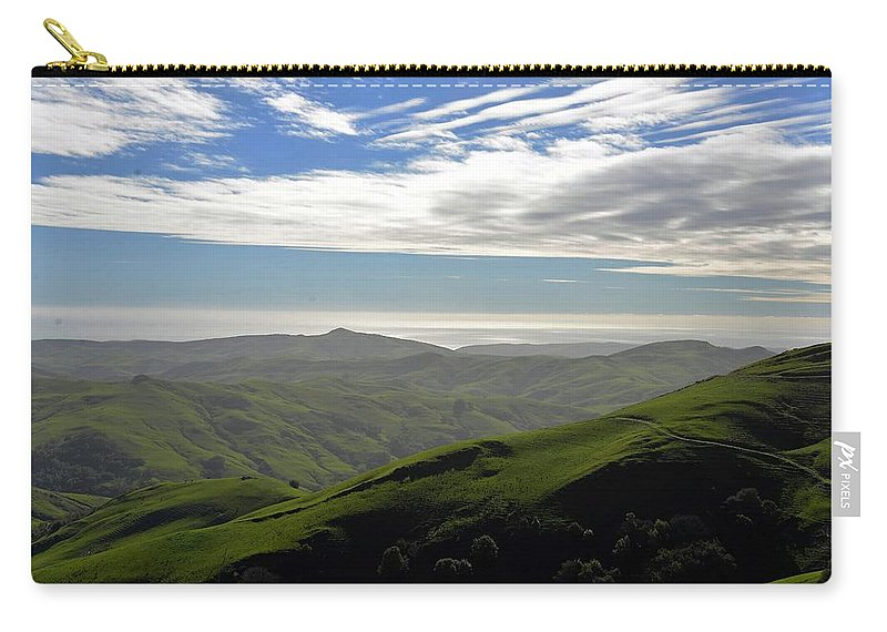 Mountains Carry-all Pouch featuring the photograph Top Of The World by Michael Brown