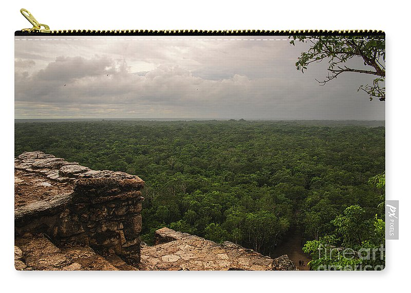 Yucatan Carry-all Pouch featuring the photograph Top Of The World by Yuri Santin