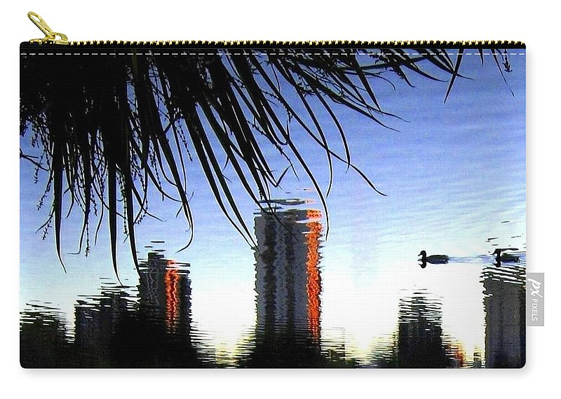 Sunset Carry-all Pouch featuring the photograph Topsy-turvy by Will Borden