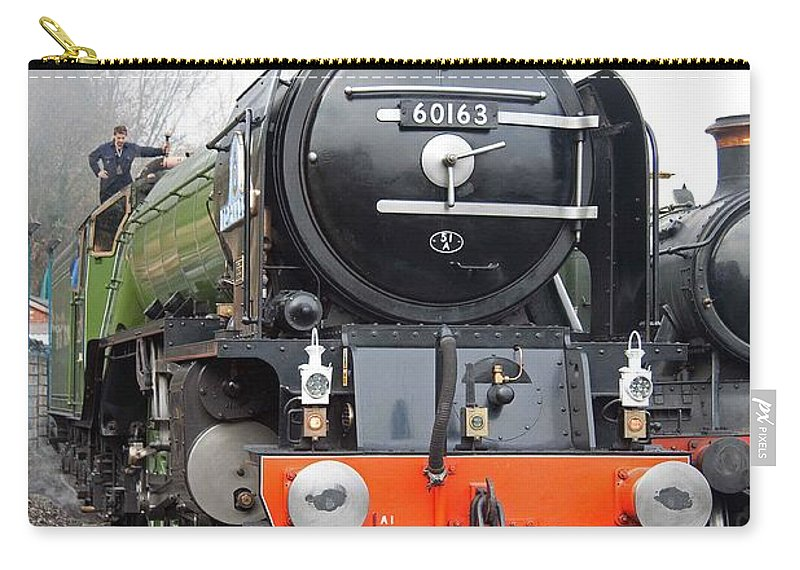 Steam Carry-all Pouch featuring the photograph Tornado Living Steam by Bob Kemp