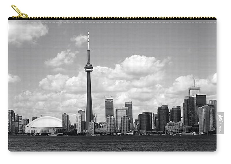 Toronto Skyline Carry-all Pouch featuring the photograph Toronto Skyline 11 by Andrew Fare