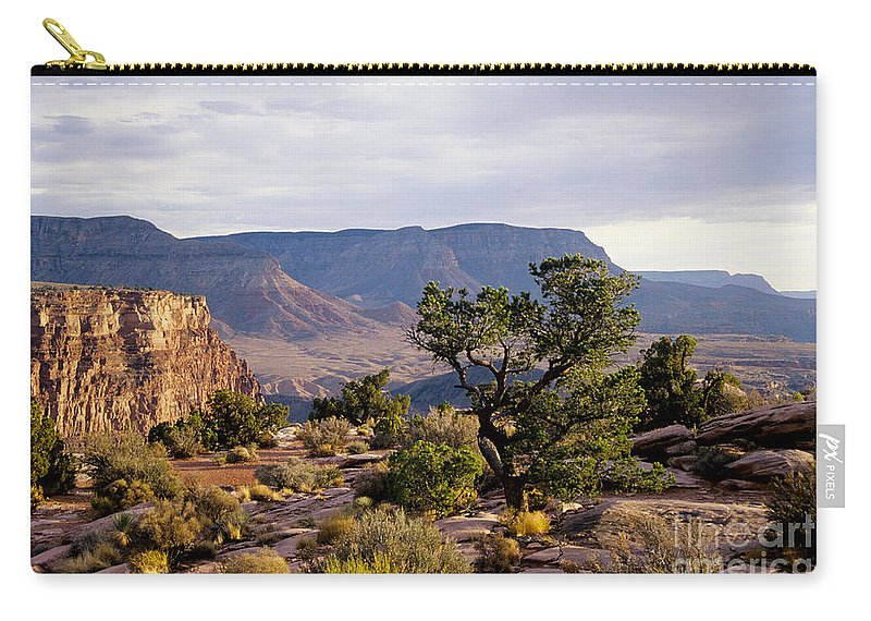 Arizona Carry-all Pouch featuring the photograph Toroweap by Kathy McClure