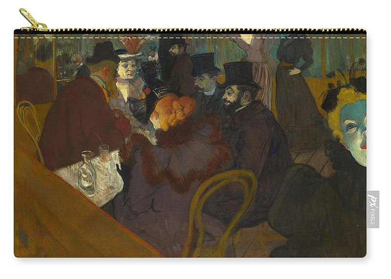 1894 Carry-all Pouch featuring the photograph Toulouse-lautrec Moulin Rouge by Granger