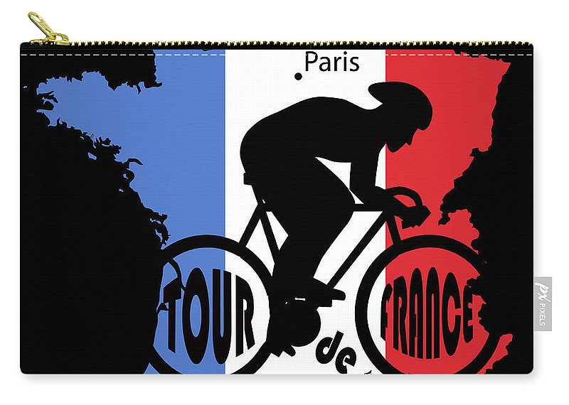 Tour De France Carry-all Pouch featuring the photograph Tour De France 3 by Andrew Fare