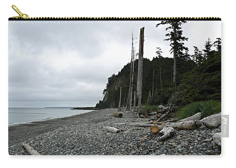 Tow Hill Carry-all Pouch featuring the photograph Tow Hill Haida Gwaii Bc by Barbara St Jean